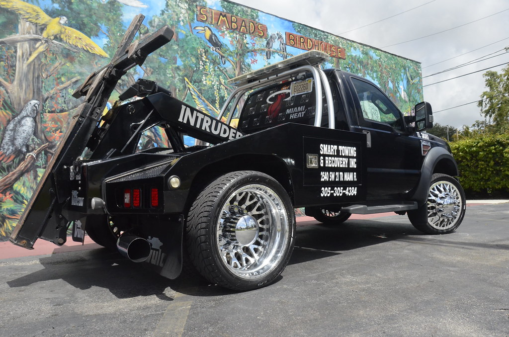 Ford Dually on EVO American Force Wheels | American ...