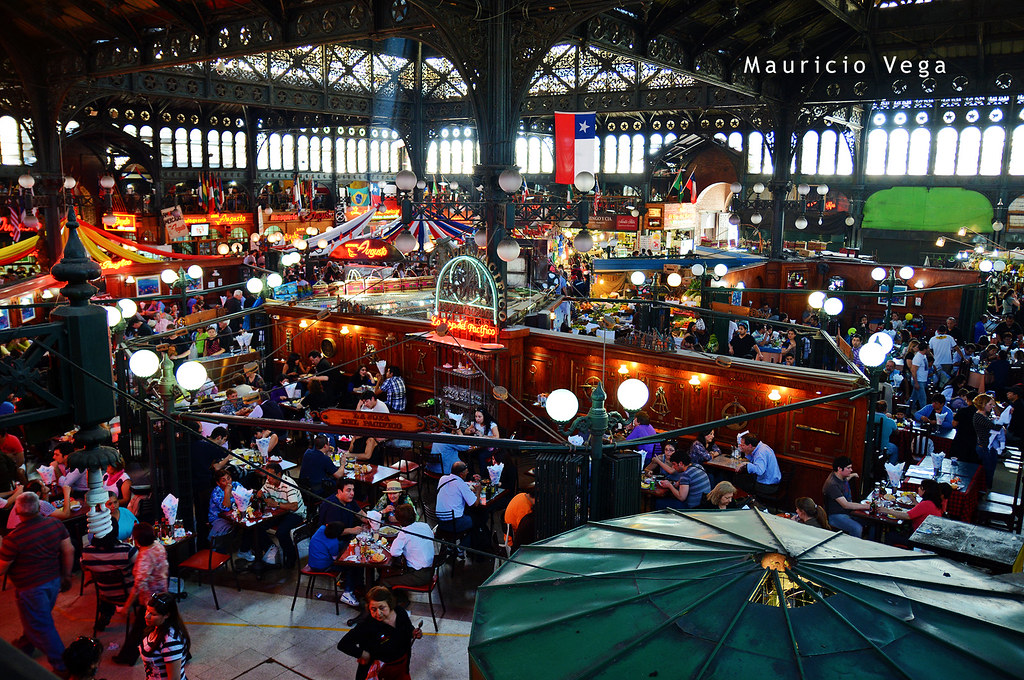Mercado Central, Santiago de Chile  © Autor: mauriciovegala…  Flickr