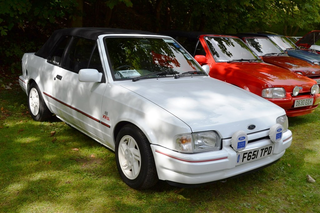 1989 Ford Escort Mark IV XR3i Cabriolet � F651 TPD | Flickr ...