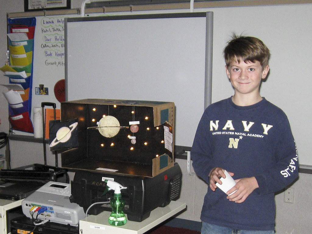 4th Grade Solar System Projects 03 Waynewood Es Flickr