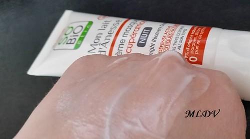 test crème masque récupératrice so'bio etic