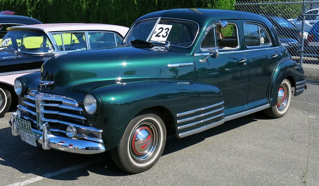 1948 chevrolet fleetline 4 door sedan custom cab flickr for 1948 chevy 2 door