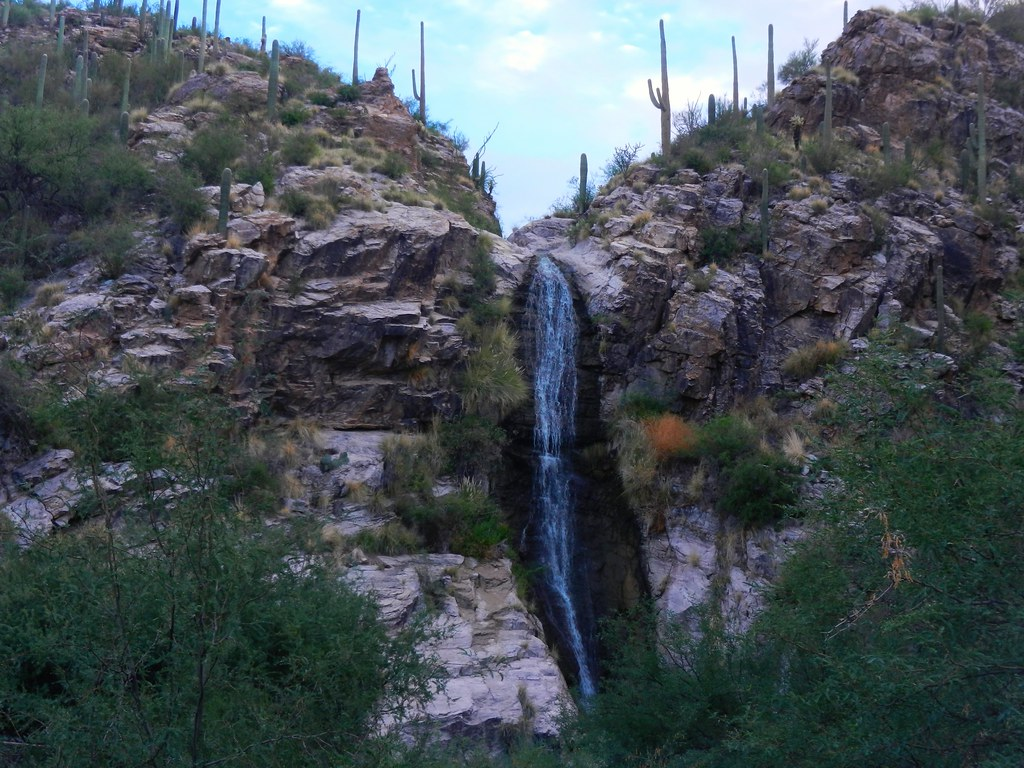 Bill Estes Com >> Ventana Canyon Waterfall - a short hike from the resort / … | Flickr