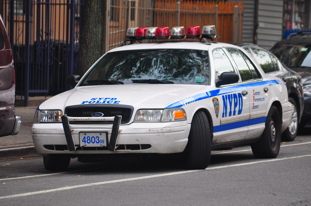 Ford Crown Vic Nypd Police Car