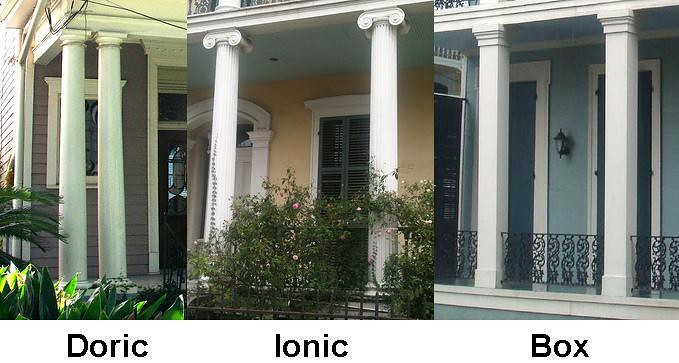 Doric ionic and box columns preservation resource for Country plans com