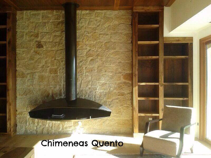 Chimenea quento antefocus showroom crta - Chimeneas quento ...
