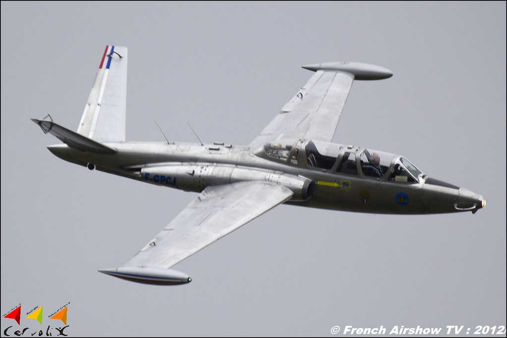 Fouga CM-170 Magister F-GPCJ Cervolix Plateau de Gergovie Auvergne Comment faire photos de Meeting Aerien 2012