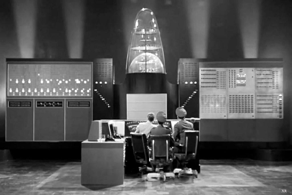 Image result for vintage science fiction computer