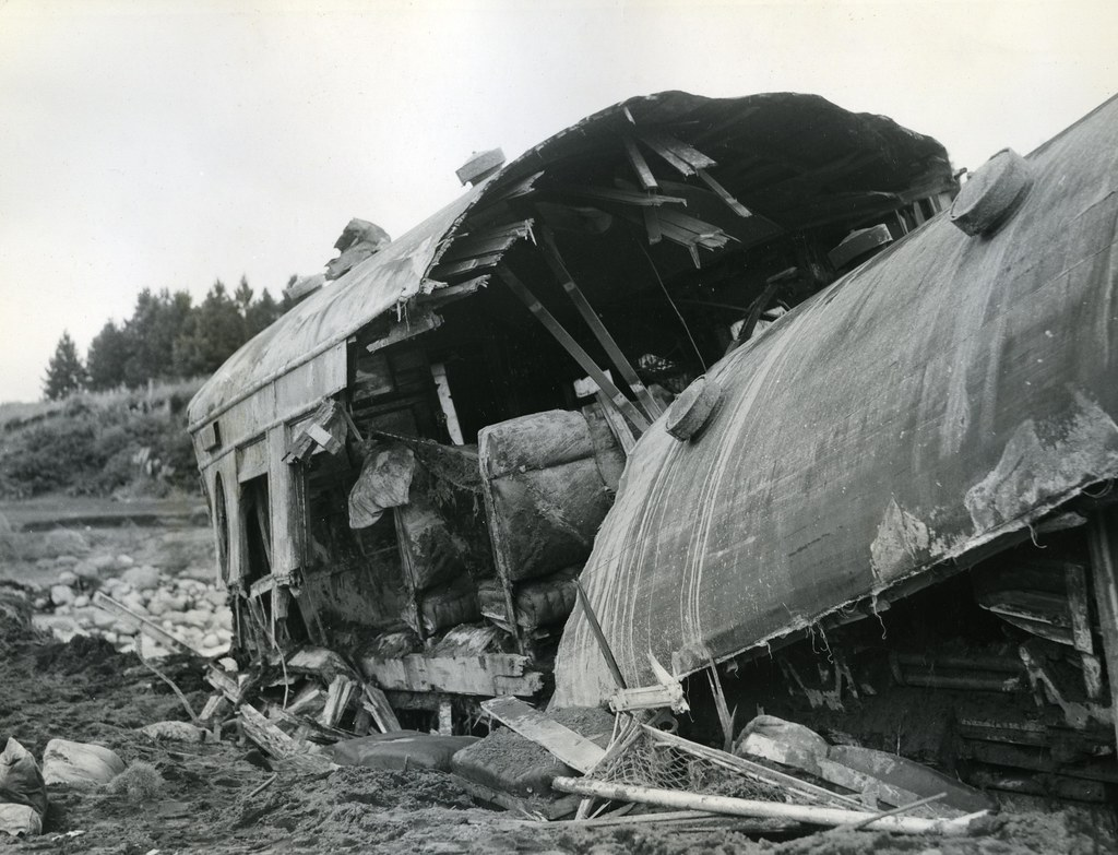 in remembrance of the tangiwai disaster  60 years ago on 2