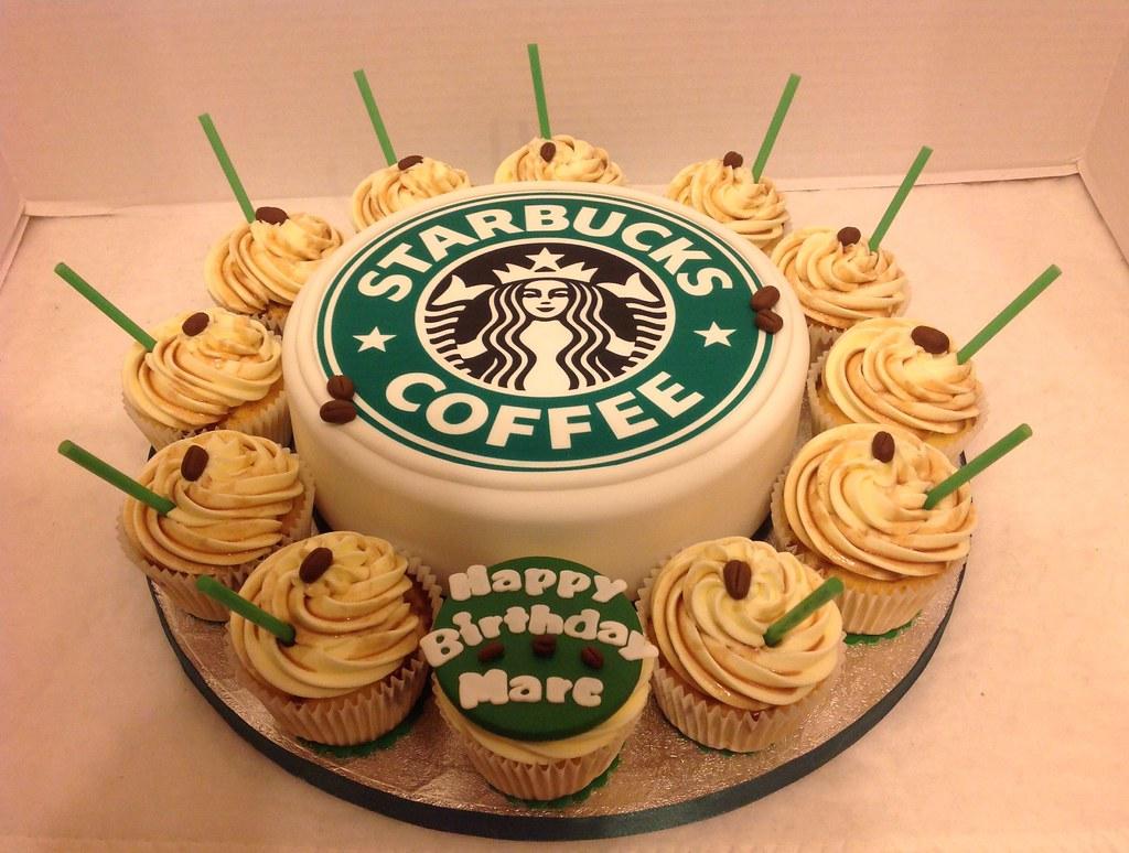 Free Birthday Starbucks ~ Starbucks birthday cake cupcakes liz flickr