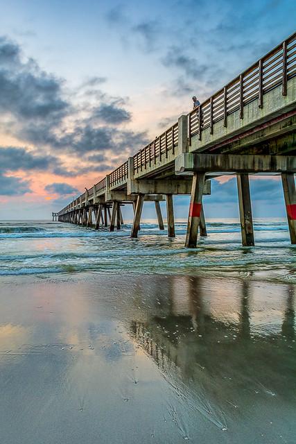 Jacksonville Beach Fishing Pier Flickr Photo Sharing