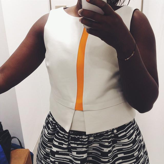 Lois Opoku Jil Sander Navy Grazia Cocktail Instagram lisforlois