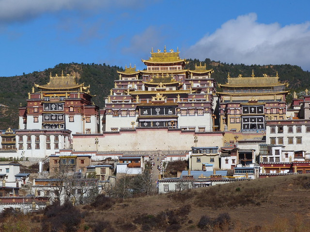 Monasterio Songzanlin (Yunnan, China)