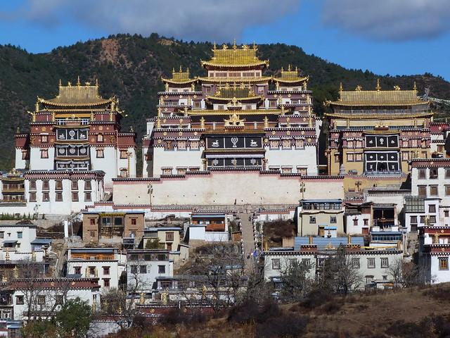 Monasterio de Songzanlin en Shangri-La (Yunnan)