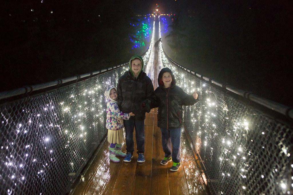 Canyon Lights at Capilano Suspension Bridge