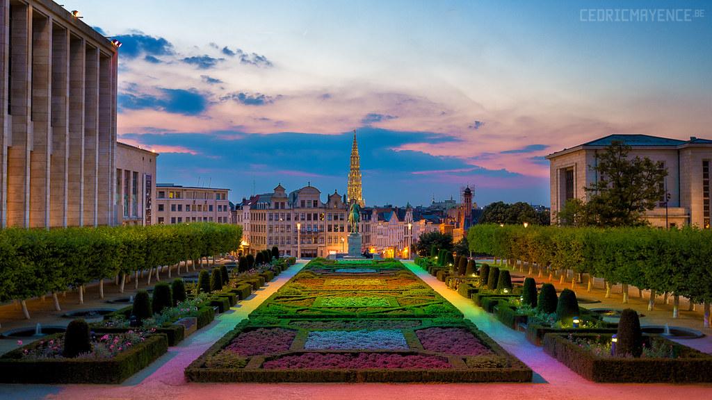Le jardin du mont des arts bruxelles be join me for Le jardin des 6