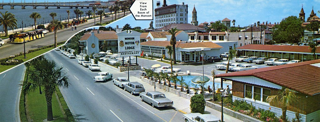 Monson Motor Lodge And Restaurant St Augustine Fl