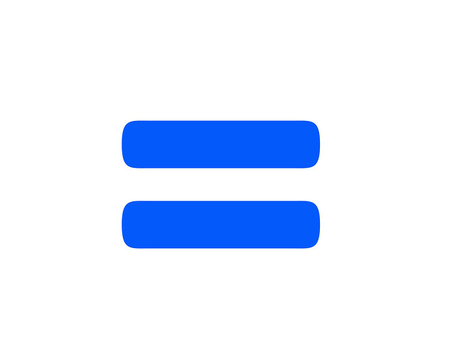 Equals Sign in Blue | Flickr - Photo Sharing!