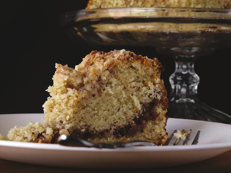 Old Fashioned Coffee Cake with a Cold Brew Icing