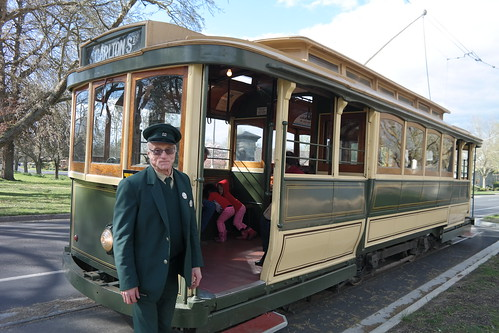 The old tram at Ballarat