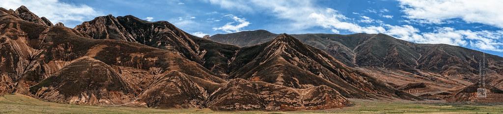 Tibet, somewhere in the Himalayas (China), panoramic picture, 06-2016, 73 (Vlad Meytin, vladsm.com)