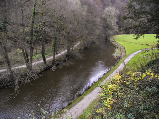 River Manifold from Ilam Hall