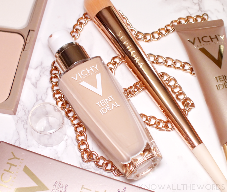 VICHY TEINT IDEAL illuminating foundation fluid