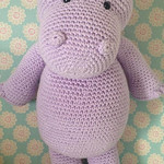 Happy Hippo - Free Amigurumi Head Pattern