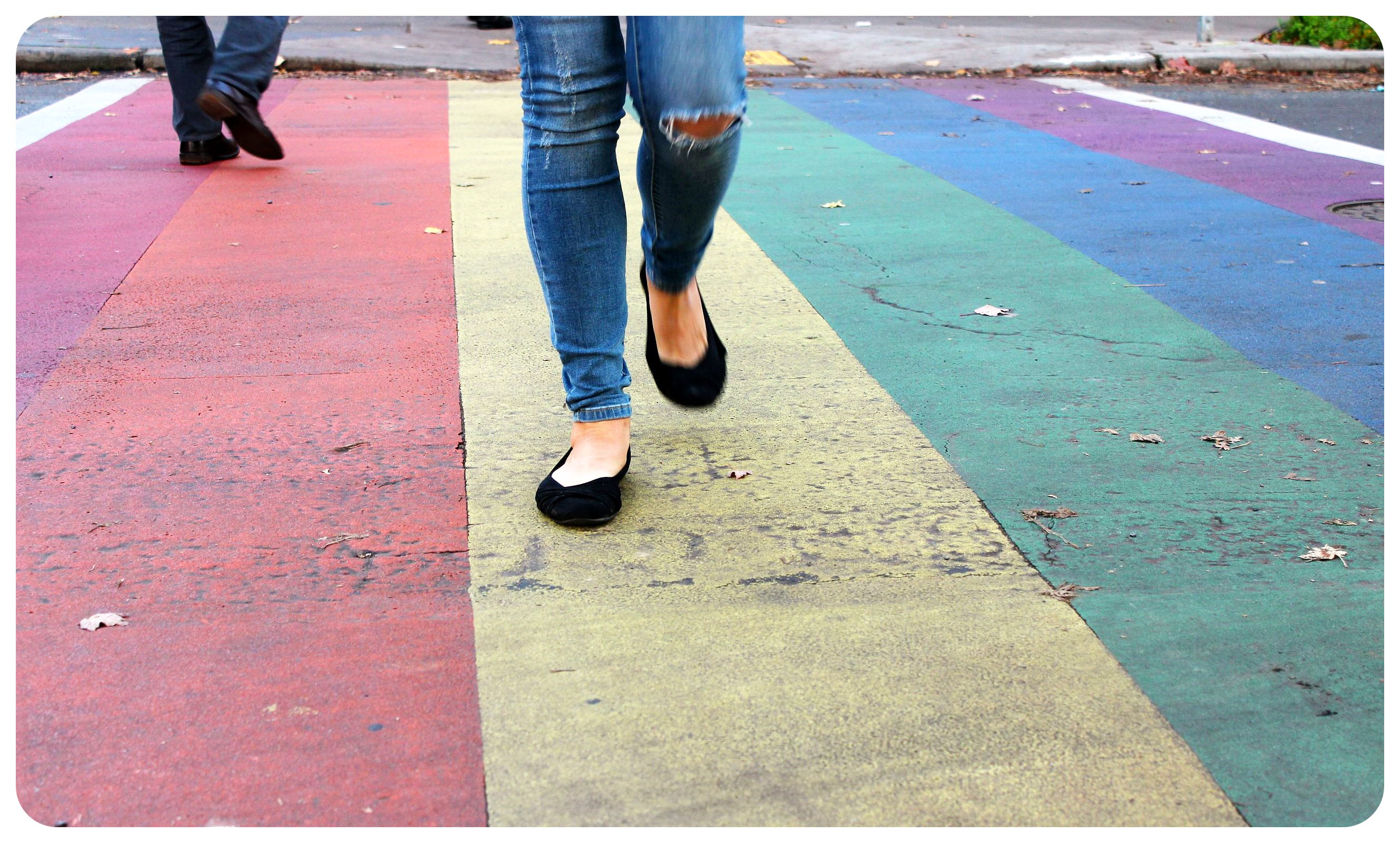 seattle capitol hill rainbow crossing