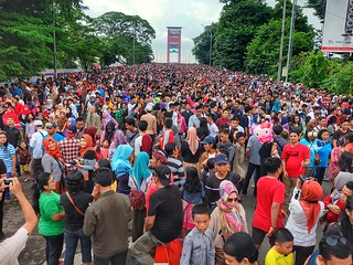Gerhana Jembatan Ampera Palembang