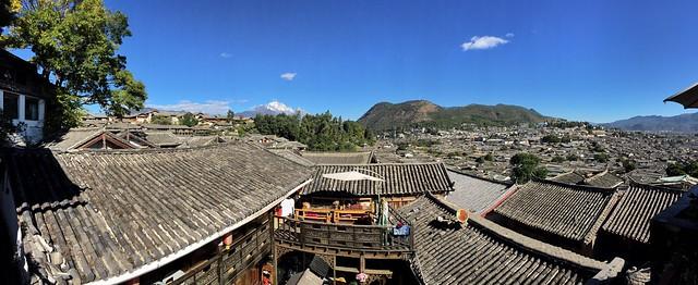 Tejados de Lijiang (Yunnan, China)
