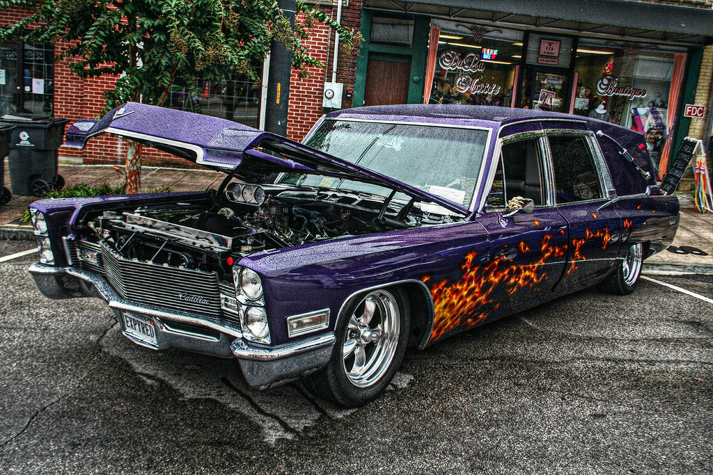 Quot Cryptdeville Quot Custom Cadillac Hearse Edit Mitch