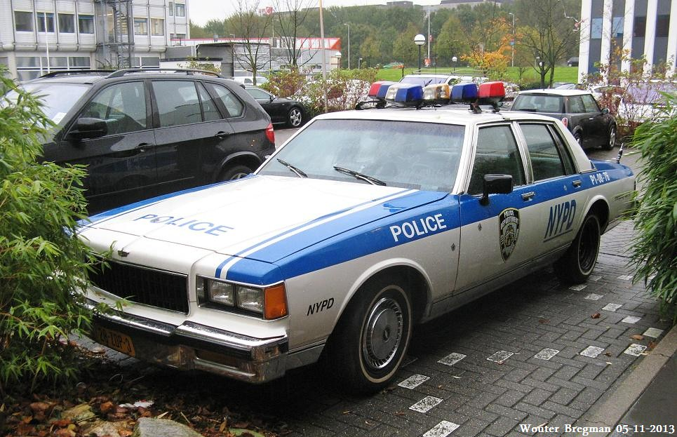 Chevrolet caprice 1986 nypd police car wouter bregman flickr