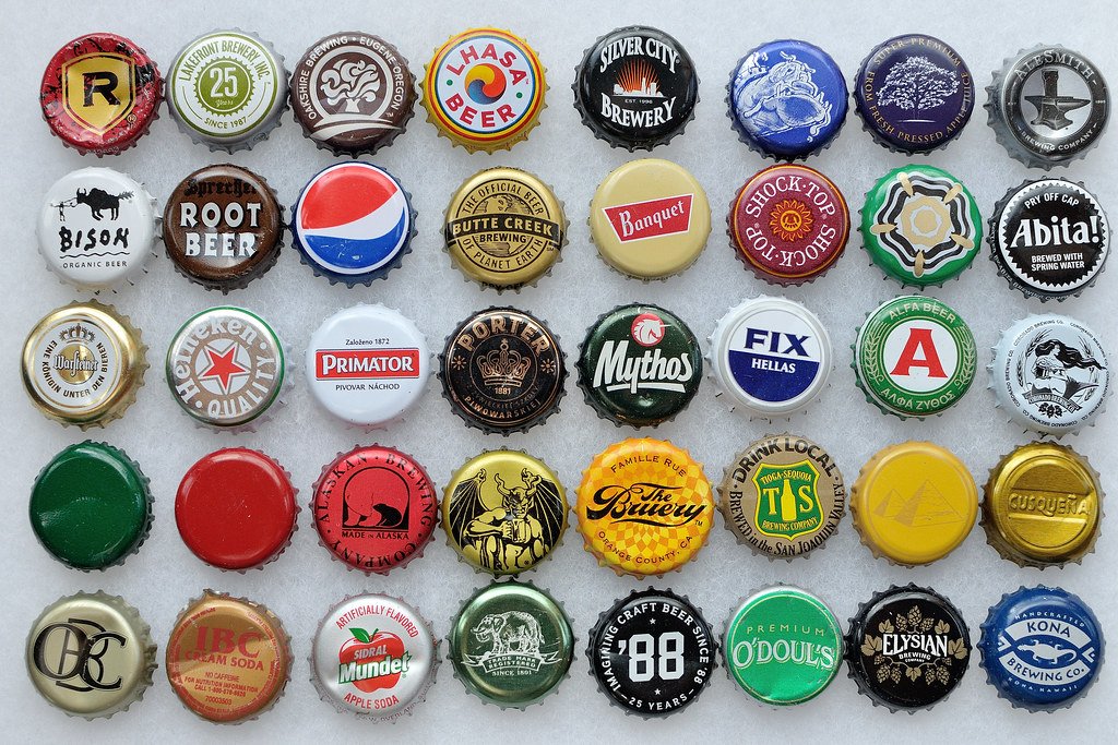 2013 Bottle Cap Collection Additions Additions To My Cap