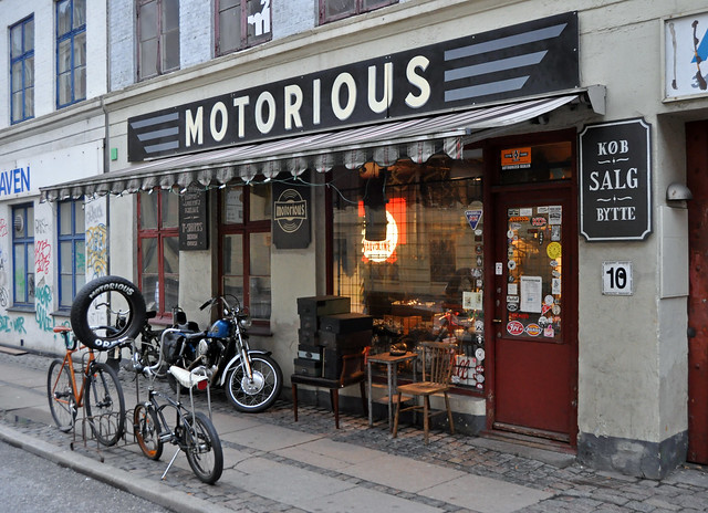 Vintage Motorcycle Shop Frederiksberg District