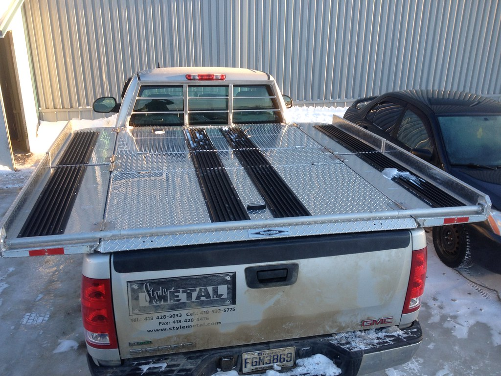 Homemade Truck Bed Rail Covers