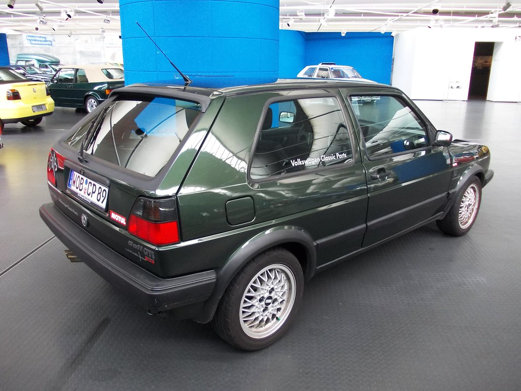 vw golf ii 2d gti 16v nothelle 1989 volkswagen museum. Black Bedroom Furniture Sets. Home Design Ideas