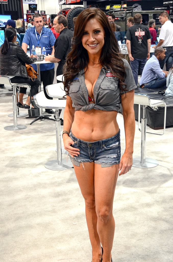 Muscle Mustangs Girl Shots From The 2013 Sema Show In