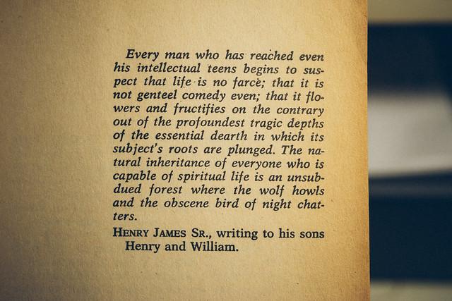 Henry James Sir