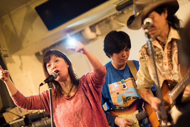 THE LITTLE DEVIL, auf Reize and 鈴木Johnny隆バンド jam session at Golden Egg, Tokyo, 12 Nov 2016 -00214