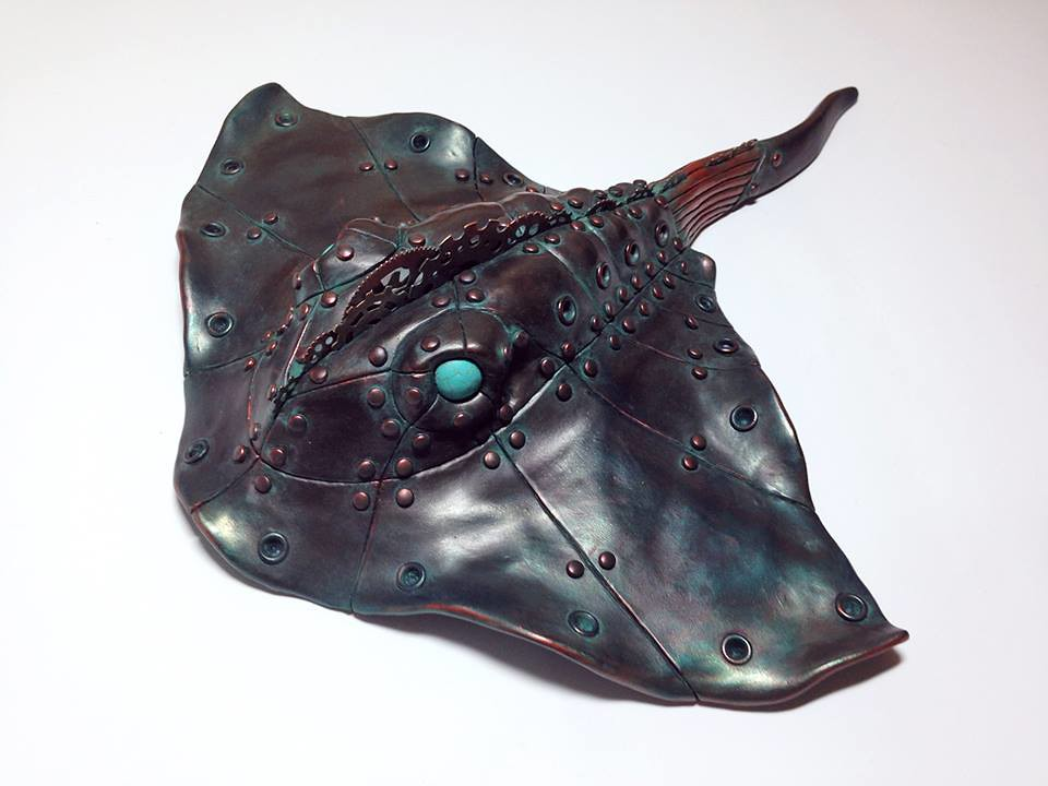 Steampunk Stingray by Calder Kibyuk Designs