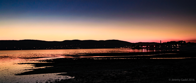 Carlingford Lough Sunset Glow