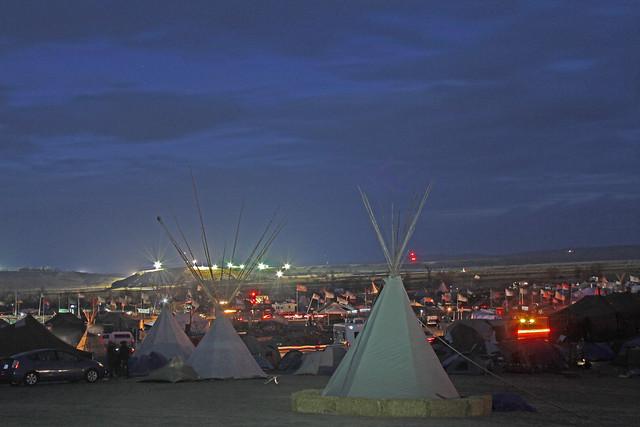 Standing Rock encampment