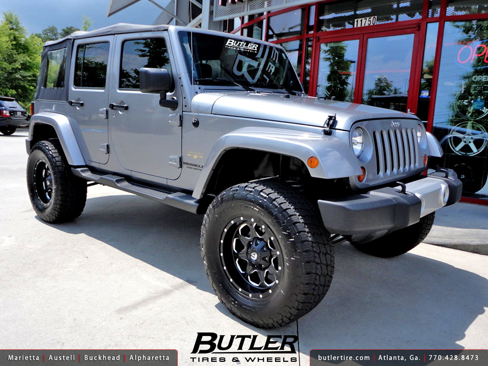 Jeep Wrangler Unlimited with 18in Fuel Boost Wheels   Flickr