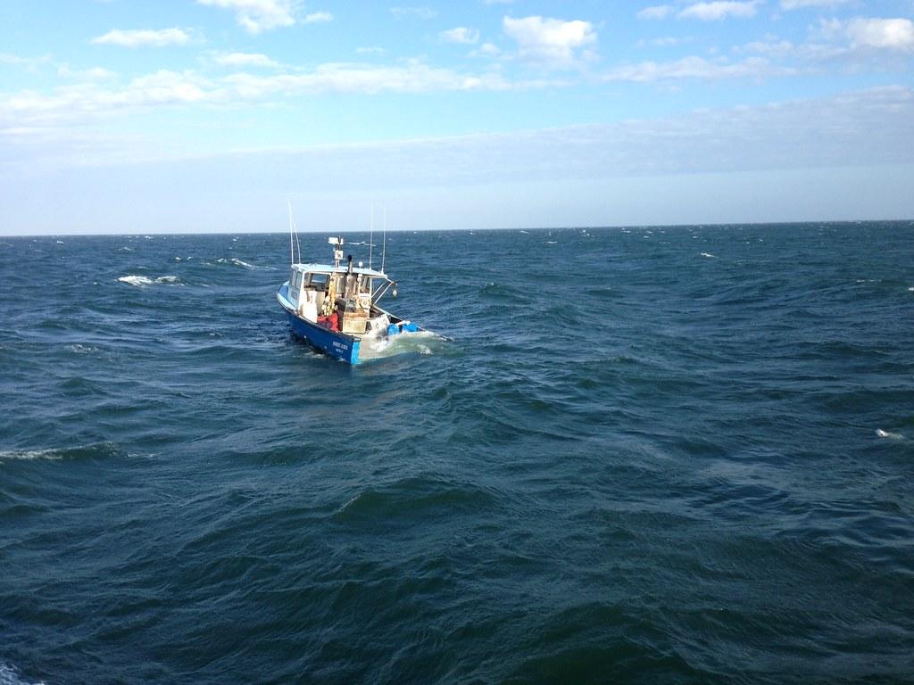 Sinking Fishing Boat Glennie Island Victoria Australia Wilsons Promontory