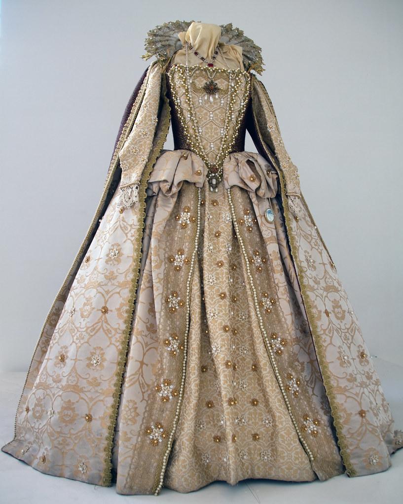 Elizabeth I Costume Birmingham Rep Production Of