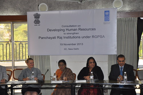 Consultation on Developing Human Resources for Strengthening Panchayati Raj Institutions | by UNDP in India