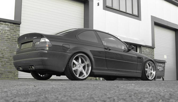 "Bmw Usa Jobs >> 20"" MK motorsport wheels on BMW e46 M3 / eurowheels.com ..."