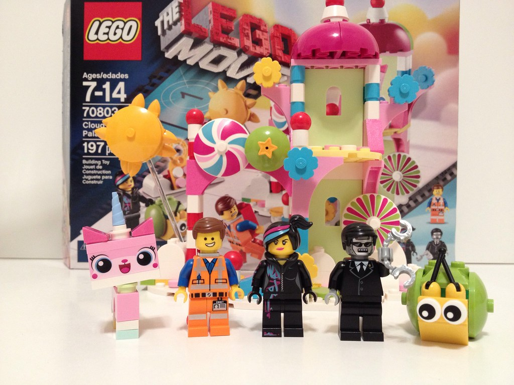 Lego Movie Toys : The lego movie cloud cuckoo palace set review here