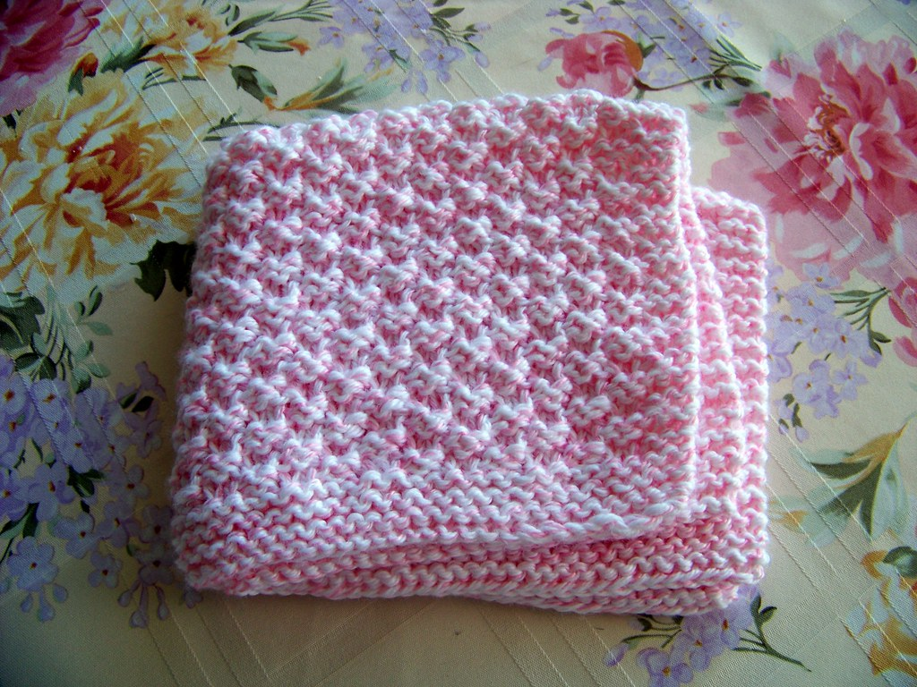 laws_of_knitting_pink_preemie_blanket Joan Laws Flickr